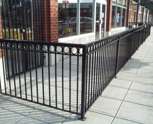 Commercial Fence Style 7