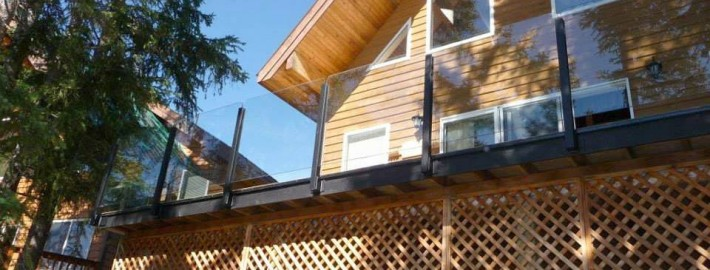 Residential Topless Glass Railing System