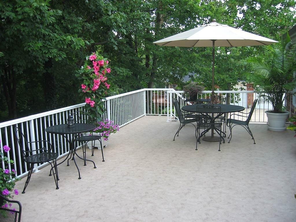 waterproof deck flooring options patio covers and decks santa