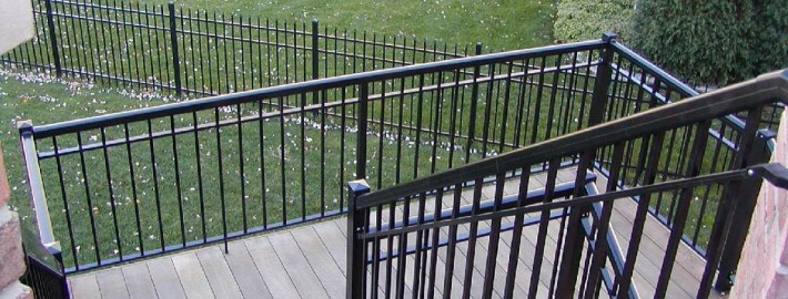 Welded Picket Railings and Stairs