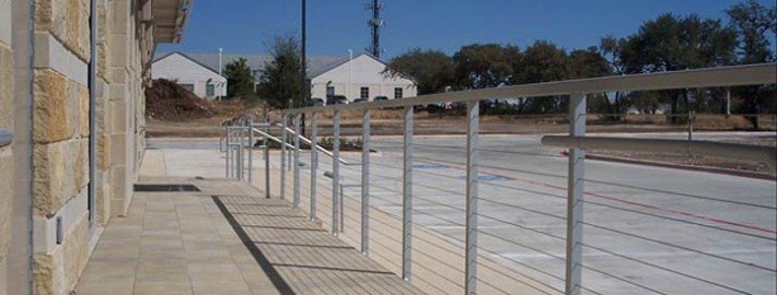 Cable Rail Fencing System