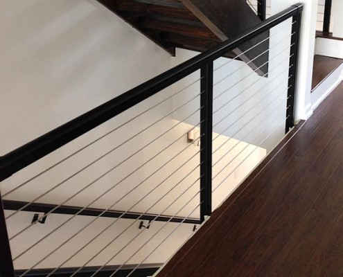 Cable Railing Systems Modern Style With Minimum View Obstruction Durable Low Maintenance And