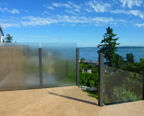 Custom Frosted Privacy Glass
