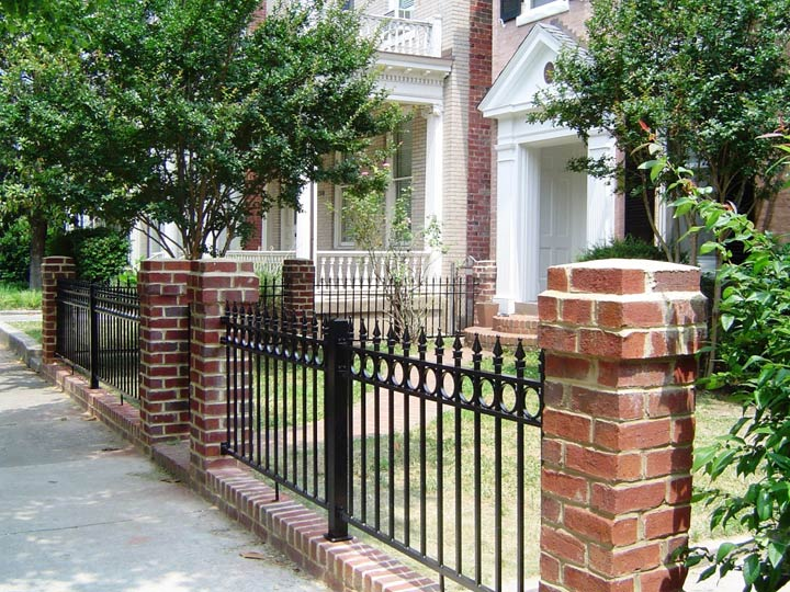 Aluminum Fence Designs Aluminum fence styles for residential multi residential or commercial excell has 8 standard powder coated aluminum fence styles to choose from or design your own custom style combine any of the fence styles with any one of workwithnaturefo
