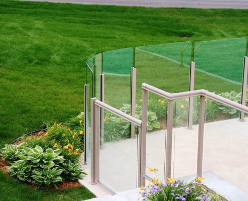 Topless Glass Railing