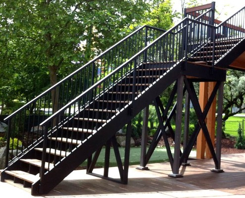 Adjustable Picket Stairs Panel