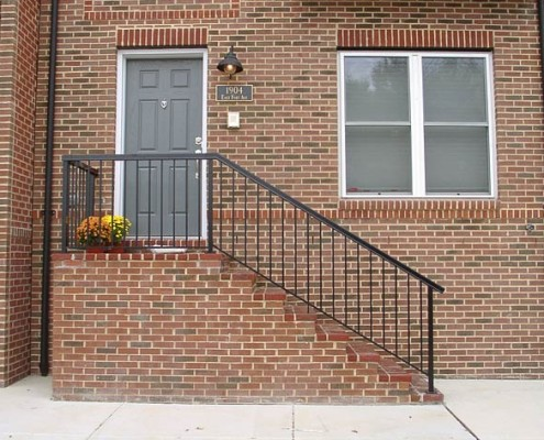 Standard Picket Stairs with Square Top Rail