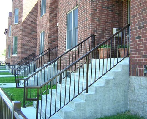 Multi Residential Standard Picket Stairs