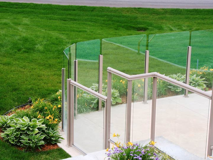 Topless Glass Railings