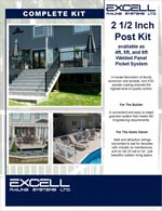 Excell Railing Picket Kit System Online Brochure