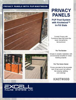 Excell Railing Privacy Panels Online Brochure