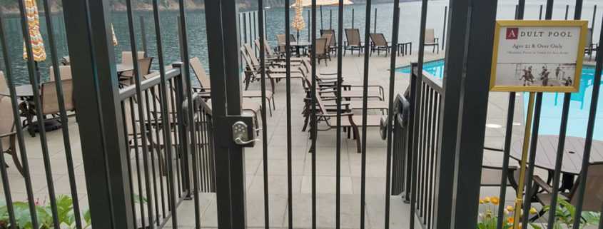 Pool Picket Fencing and Gate