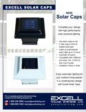 Excell Railing Solar Caps for posts online brochure